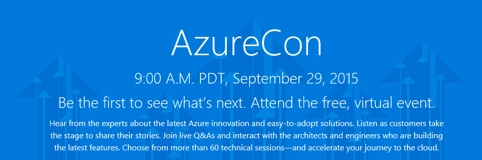 AzureCon 2015