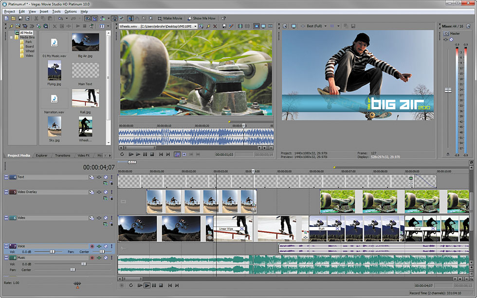 sony vegas pro 10 system requirements