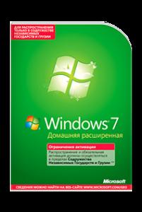 Microsoft Windows 7 Home Premium. Домашняя расширенная