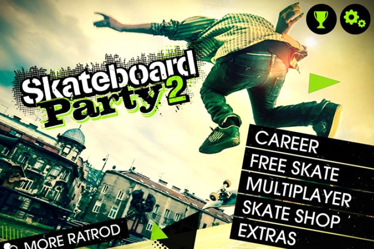 Skateboard Party 2 Windows Phone 8
