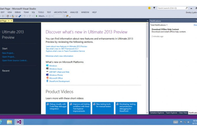 how to use microsoft visual studio 2013