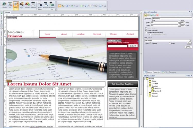 Программное обеспечение для веб-дизайна