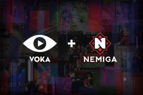 VOKA становится партнером Nemiga Gaming