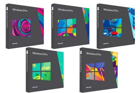 Windows 8. Изображение коробочных версий