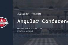 NgTalks 2018 - первая Angular конференция в Украине!