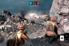 Star Wars: Battlefront. В отличие от других игр, здесь очень приятная гамма.