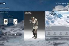 Star Wars: Battlefront. Интерфейс стал больше напоминать Windows 10
