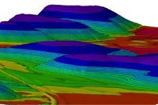 AutoCAD Civil 3D содержит функции работы с поверхностями, вертикальной планировкой и установления динамических связей