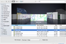 Навигационный режим «Cover Flow» (только для Mac)