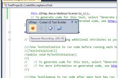Microsoft Visual Studio Premium 2010. Автоматизация тестирования пользовательского интерфейса