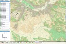 ГИС Геопроект 5. Работа с картой