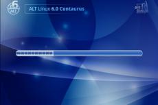 ALT Linux 6.0 Centaurus. Скриншот программы
