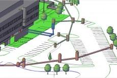 AutoCAD Civil 3D поддерживает интеллектуальную процедуру нанесения меток при проектировании хозяйственно-бытовой и ливневой канализации