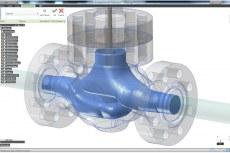 Функция создания текучего объема в Autodesk Inventor Fusion помогает быстро готовить модели САПР для последующего моделирования методами вычислительной гидродинамики в Autodesk Simulation CFD 2013