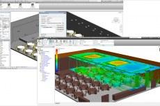 Благодаря улучшенной совместимости с САПР обеспечивается ассоциативный обмен BIM-данными, подготовленными в Autodesk Revit, для моделирования методами вычислительной гидродинамики в Autodesk Simulation CFD 2013