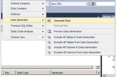 Microsoft Visual Studio Premium 2010. Создание реалистичных данных тестирования