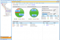 Скриншот: сводная панель мониторинга
