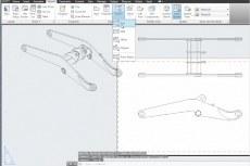 Inventor 2013 позволяет создавать виды чертежа из файлов AutoCAD