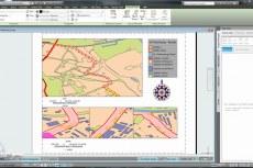 Динамические условные обозначения, стрелки направления на север и графические масштабы