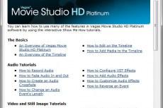 Vegas Movie Studio Platinum HD 10. Интерактивные уроки