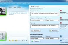 Перевод сообщений в ICQ, Skype, QIP, MSN Messenger