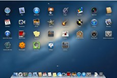 Рабочий стол Mac OS X Mountain Lion
