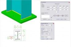 Диалоговое окно описаний позволяет проектировщикам создавать описания сварки в ручном режиме