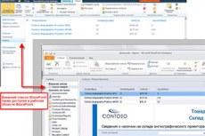 Microsoft Office SharePoint Workspace 2010. Доступ к внешним источникам данных и их изменение.
