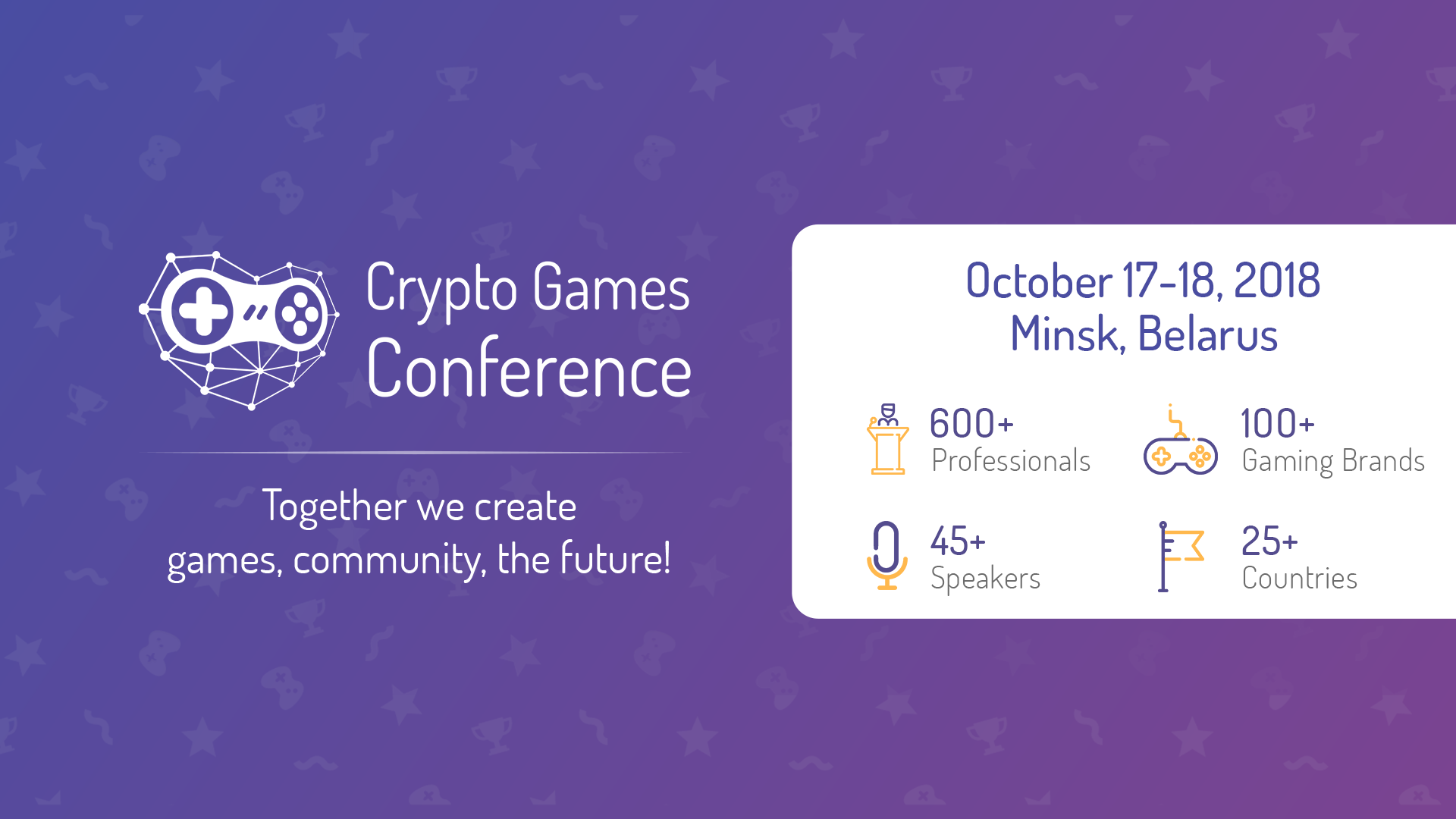 Crypto Games Conference 2018