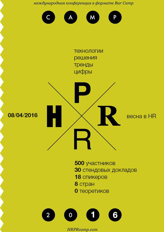 Международная бизнес-конференция «HRPR Camp»: автоматизация в управлении предприятием, HR и PR