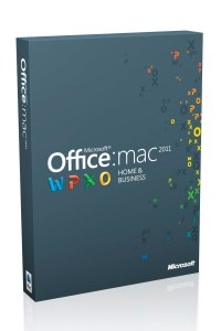 Office for Mac Home and Business 2011. Для дома и бизнеса