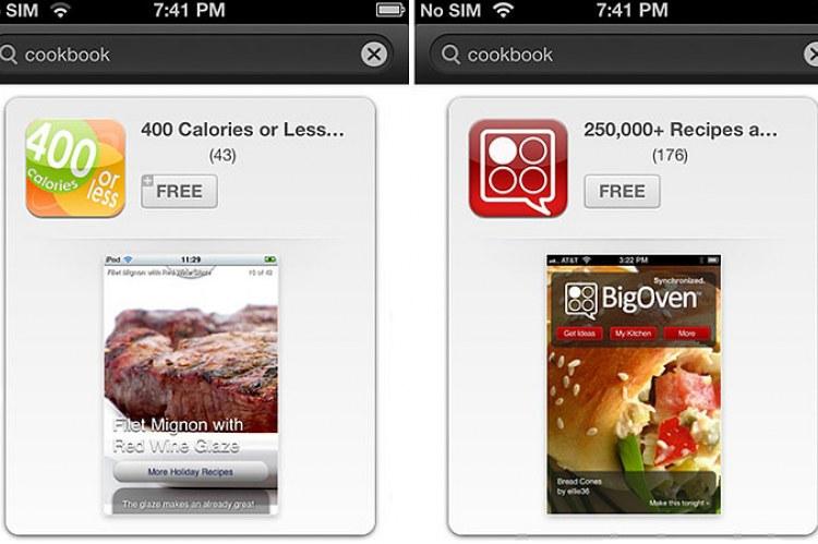 Новый дизайн App Store в iOS 6