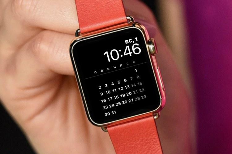 Как изменить циферблат на Apple Watch