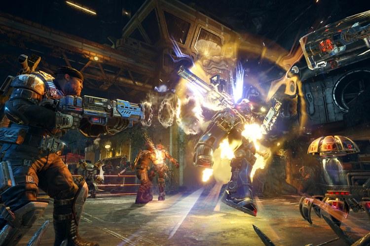 В Gears of War 4 используются облачные технологии Microsoft Azure