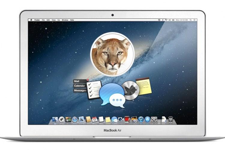 Новая версия ОС OS X 10.8 Mountain Lion
