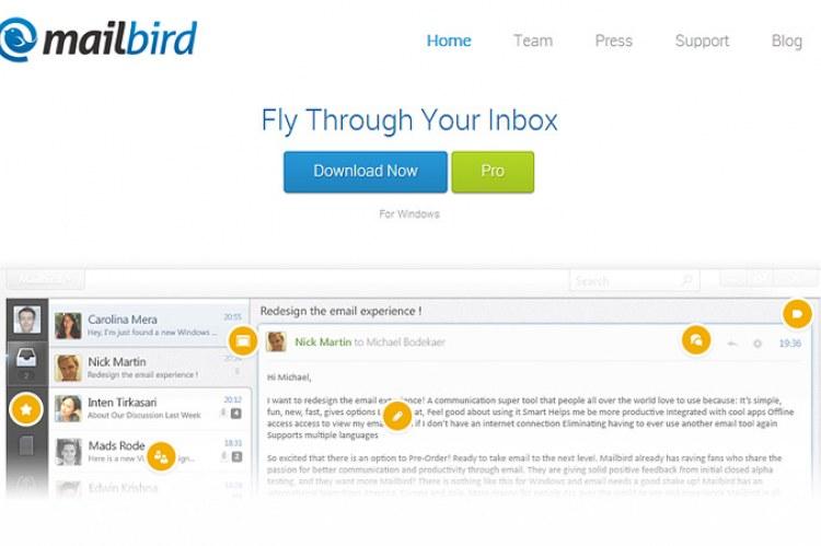 Почтовый клиент Mailbird
