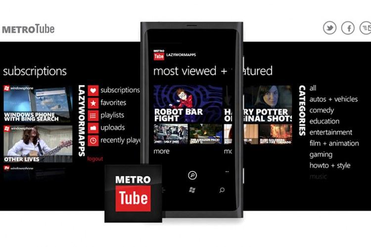 Metrotube Windows Phone