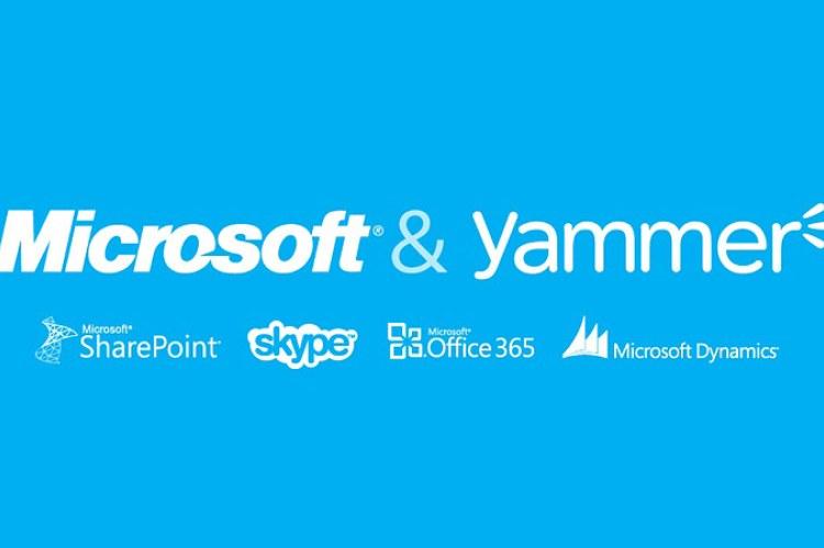 Yammer и Microsoft