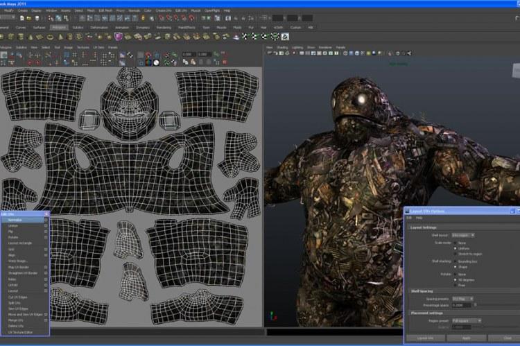 Создание и редактирование UV-текстур с мощным набором инструментов и оптимизированными рабочими процессами