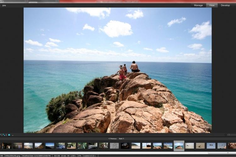 ACDSee Pro 5. Режимы просмотра фотографий в виде киноленты