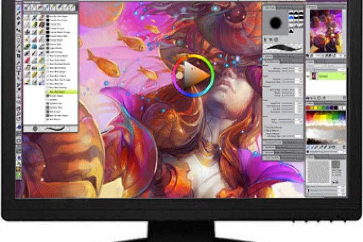 Painter 12. Интерфейс программы