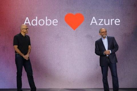 Adobe и Microsoft Azure