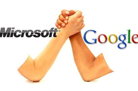 Microsoft против Google