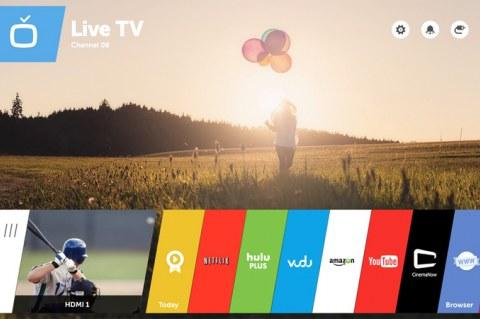 LG интегрирует webOS для Smart TV