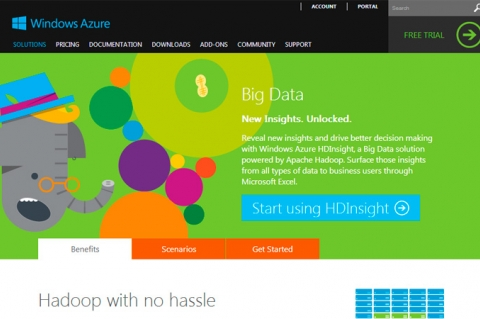Hadoop-сервис Windows Azure