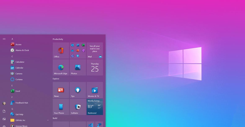 """Windows 10: удаляем недавно добавленные приложения из меню """"Пуск"""""""
