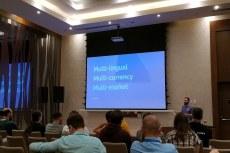 Bojan Živanović на DrupalCamp в Минске