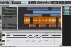 SONAR X1 Studio. Скриншот программы