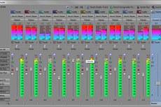 Sony Vegas Pro 10. Микшерный пульт
