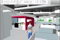 В Navisworks Интегрированная проектная модель исследуется с помощью расширенных средств навигации